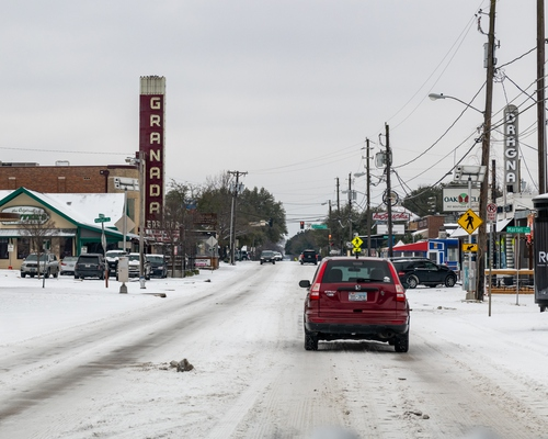 The Texas Crisis Could Become Everyone's Crisis - Image of Dallas Snowstorm