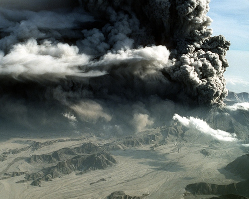Should We Block the Sun? Scientists Say the Time Has Come to Study It. - Image of volcanic ash