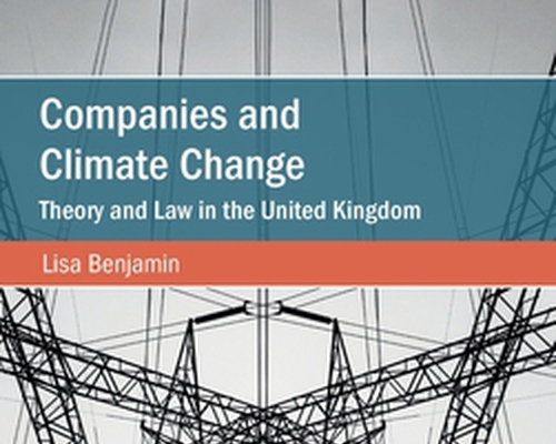 Companies and Climate Change: Theory and Law in the United Kingdom